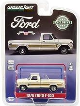 Ford f-100 pick-up rojo 5 generación 1966-1972 1//43 GreenLight modelo coche con o