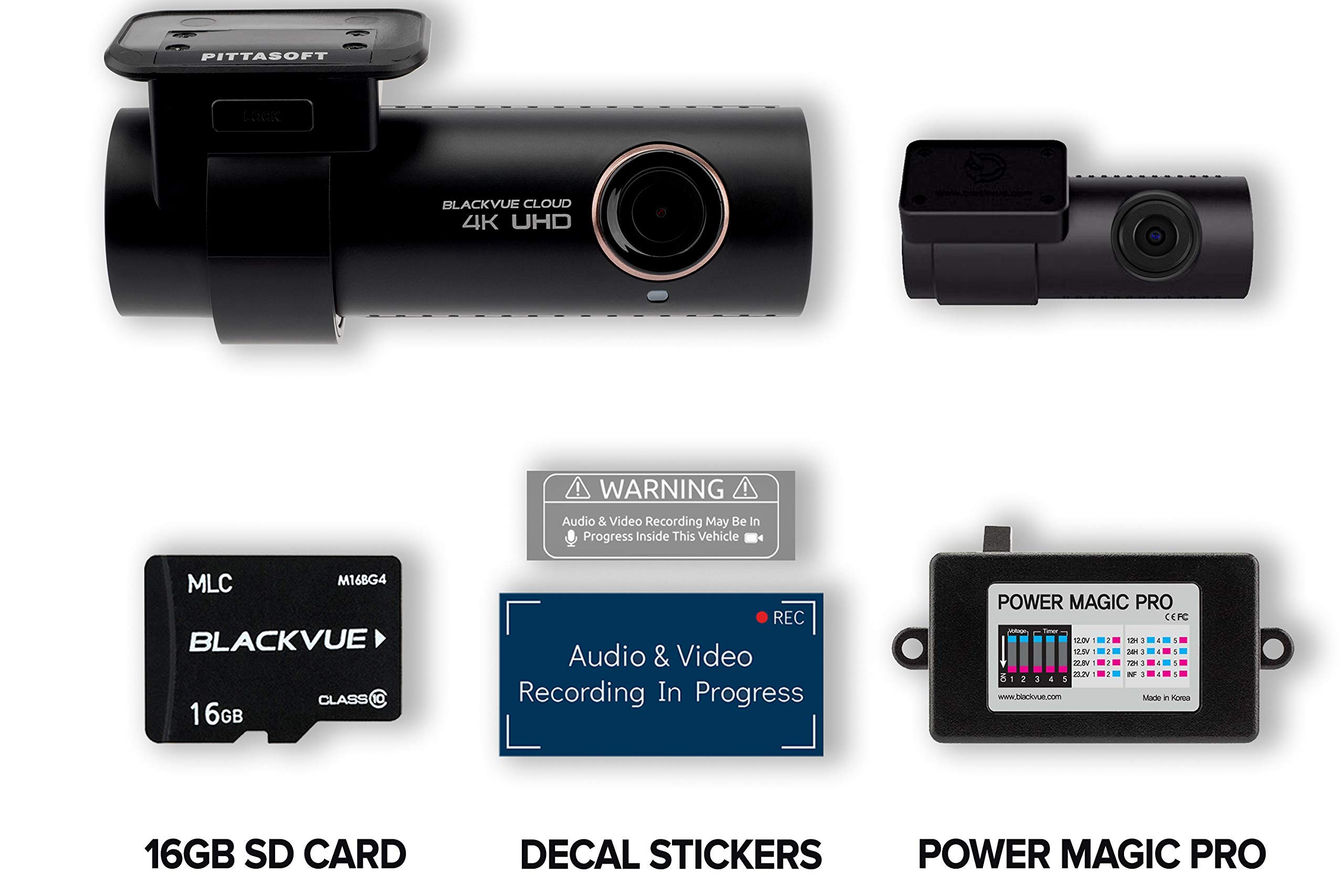 BlackVue DR900S 2CH Hardwiring Recording Connectivity