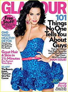 Glamour magazine February 2010 Katy Perry Shares Her Sex Confidence Tips - MAN ISSUE: Why Men Cheat, Desires, Body Hang-Ups