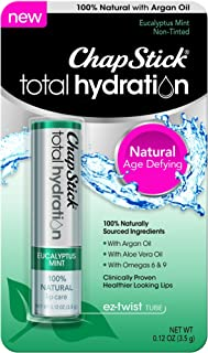 ChapStick Total Hydration Eucalyptus Mint 0.12 oz (Pack of 3)
