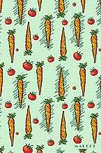 Market: Farmers Organic Vegtables Vegan Bullet Journal Dot Grid For Men, Women, Teen & Kids