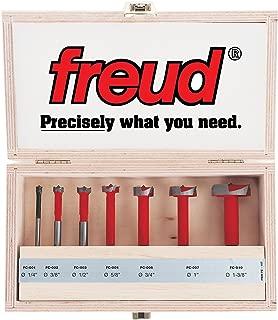Freud Seven Piece Carbide Forstner Drill Bit Set (1/4