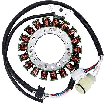 Ignition Coil Starter Relay Magneto Stator for 2004 2005 2006 2007 2008 2009 2010 2011 2012 2013 Yamaha Raptor 350 YFM 350
