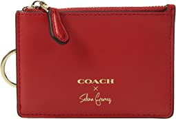 COACH - Selena Mini Skinny Id Case In Refined Calf Leather