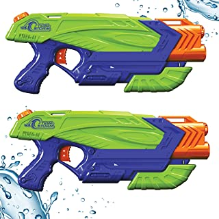Tidal Storm® Aqua Flash™ 2-Pack Set Hydro Flare™ Power-Pump Water Blastersby Prime Time Toys and Dart Zone®