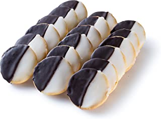 Gimmee Jimmy's Cookies Traditional Black and White Cookies | 18 pcs
