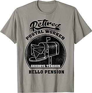 Retired Postal Worker Shirt | Cute Mail Carrier T-shirt Gift