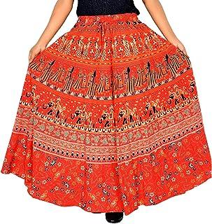 36 Inch Length Elastic Band Skirt for Women Skirt D7