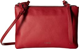 Plume Elegance Leather Multi Pouch Bag