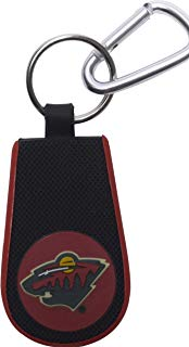 GameWear Minnesota Wild Classic Hockey Keychain