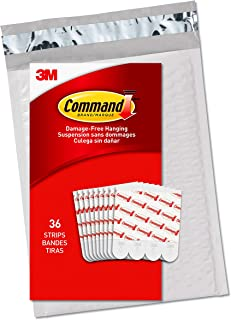 Command GP021-36NA Value Pack Refill Strips, Medium, White