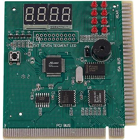 Fayme Fayme(R) PCマザーボード診断カード4桁PCI/ ISA POSTコードアナライザ