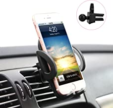ilikable Air Vent Car Mount Holder 360 Rotation Release Button Compatible Cell Phone Smartphone Android GPS Devices - Black