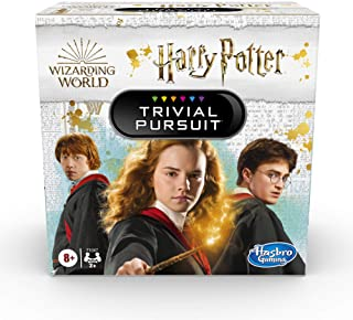 Hasbro Gaming Trivial Pursuit: Wizarding World Harry Potter Edition Compact Trivia Game for 2 or More Players, 600 Trivia ...