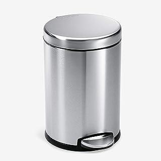 سطل زباله دور گام ساده