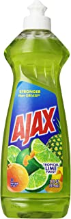 Ajax Dishwashing Liquid, Tropical Lime Twist, 12.6 Ounce