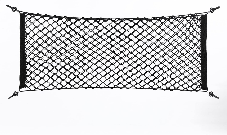 KIMISS Cargo Net 100x40cm Nylon Our shop most popular Plastic Bag Car T Black Storage Limited price sale