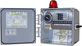 Tran-T Aerobic Septic Control Panel With Timer 3 Breaker