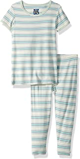 6ae3dbba8 Kickee Pants Boys' Print Short Sleeve Pajama Set Prd-kppj108-bdest