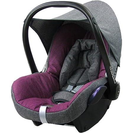 Bambiniwelt Ersatzbezug Für Maxi Cosi Cabriofix 6 Tlg Grau Pink Bezug Für Babyschale Komplett Set Xx Baby