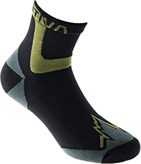 Ultra Running - Calcetines de running (talla L), color verde y negro