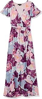 Sangria womens Split Sleeve Maxi Dress Special Occasion Dress
