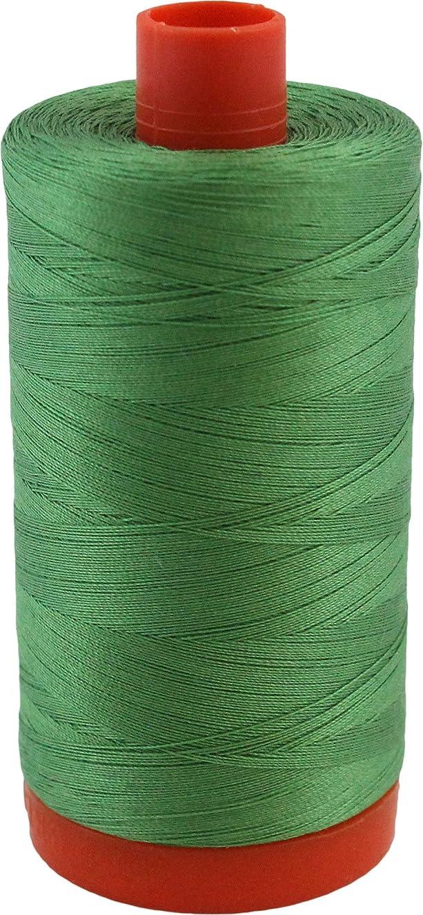 Aurifil Green Yellow 50 Weight Cotton Mako Thread Large Spool MK50 2884