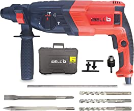 iBELL RH26-26, SDS-Plus, 26MM, 780W Heavy Duty Rotary Hammer Drill, 3 Functions with Vibration Control, Chisels and Drill Bits with Case - 6 Months Warranty