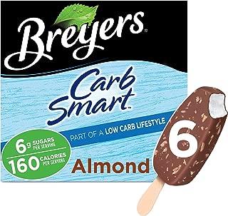 Breyers CarbSmart Ice Cream, Almond Bars 6 ct (Frozen)