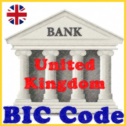 UK SWIFT/BIC BANK