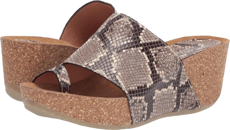 Donald J Pliner Womens Ginie2-49 Wedge Sandal