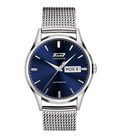 Tissot Heritage Visodate Automatic T0194301104100 (Blue) Watches