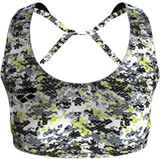 arena Women's Gym Solid Sports Bra Top