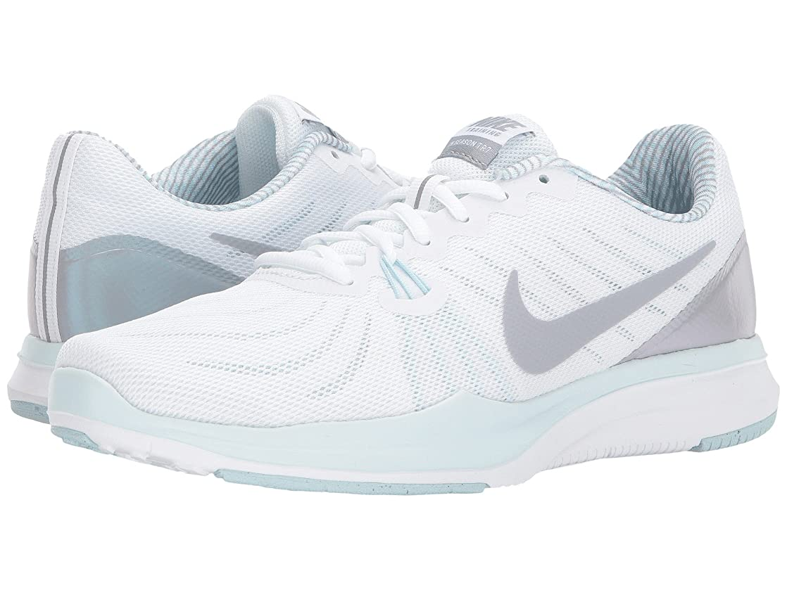 レンチ賭け洗練された(ナイキ) NIKE レディースランニングシューズ?スニーカー?靴 In-Season 7 White/Wolf Grey/Glacier Blue 10 (27cm) B - Medium