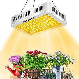LED Grow Light 1000W White, GARPSEN Q1000 Full Spectrum Plant Grow Lamp with Daisy Chain for Indoor Plants Veg and Flower
