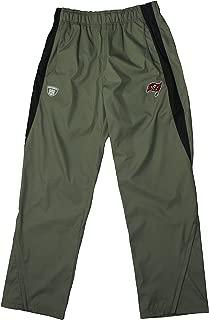 Reebok NFL Mens Tampa Bay Buccaneers On Field All Weather Athletic Pants, Pewter