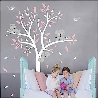 Bdecoll Stickers muraux,Grand Arbre Mignonne Koalas Sticker mural pour bébé chambre décoration/autocollant bricolage pour ...