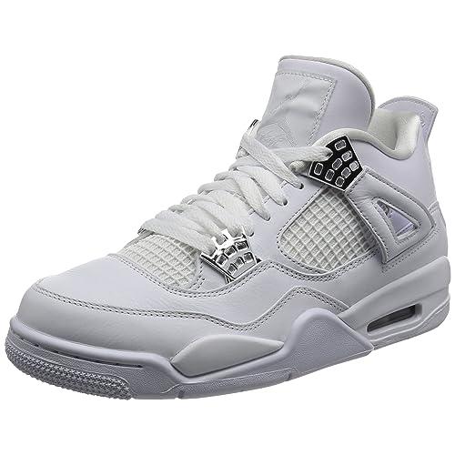 sale retailer 97838 60d34 Nike Air Jordan 4 Retro, Scarpe da Fitness Uomo