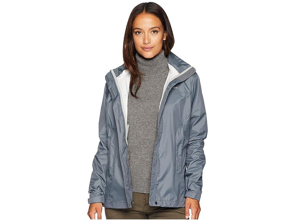 Marmot PreCip(r) Jacket (Steel Onyx) Women