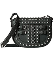LOVE Moschino - Crossbody Bag with Belt Studs