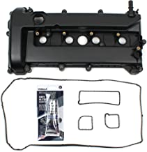 Brand New Engine Valve Cover and Valve Cover Gasket Set with Spark Plug Tube Seal For 2005-13 Ford 2.0L 2.3L Mercury DOHC