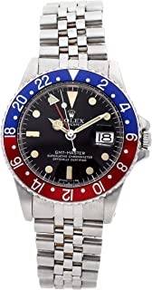 Rolex GMT Master Mechanical (Automatic) Black Dial Mens Watch 1675 (Certified Pre-Owned)