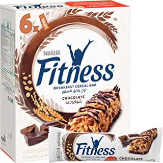 Nestle Fitness Chocolate Breakfast Cereal Bar (6 Bars)