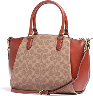 Coach Womens Elise Satchels, Multicolour (B4/Tanrust) - 79364