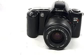 Black Canon EOS REBEL X S 35mm FILM SLR Camera Body & Lens