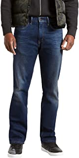 Levi's Men's 505 Regular FIT Jean-Dark Stonewash