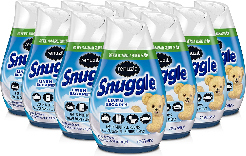 New product type Cheap bargain Renuzit Snuggle Solid Gel Air Freshener O Escape Scent Linen 7