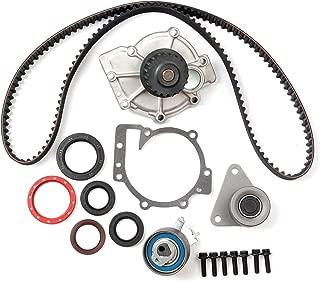 cciyu Timing Belt Water Pump with Gasket Tensioner Bearing Fits 1998-2010 Volvo V40 V70 XC70 XC90 C70 S40 S60 S70 S80 1.9L 2.3L 2.4L 2.5L Engine