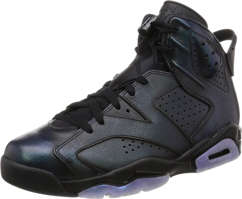 Jordan Men's Air 6 Retro AS, BLACK BLACKWHITE
