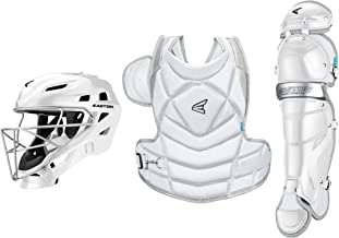 EASTON THE FUNDAMENTAL BY JEN SCHRO Female Catchers Protective Box Set | 2020 | Streamlined Helmet+Steel Cage | Chest Protector - Breathable & Lightweight | Leg Guards - Extra Inner Knee Foam